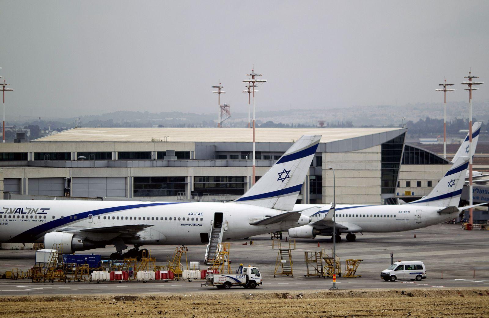 Ben Gurion Airport / Streik / Israel