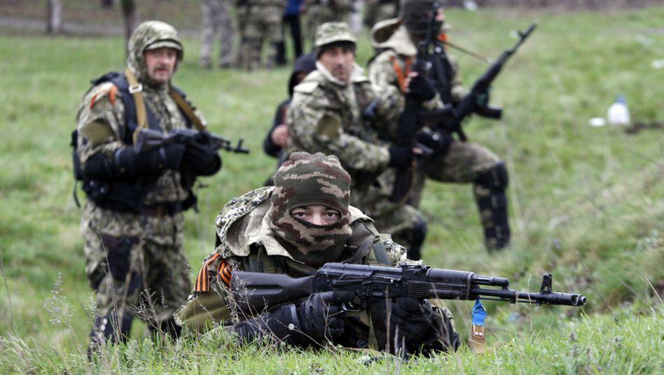 Prorussische Aktivisten: Kommt es zum Bürgerkrieg in der Ostukraine?