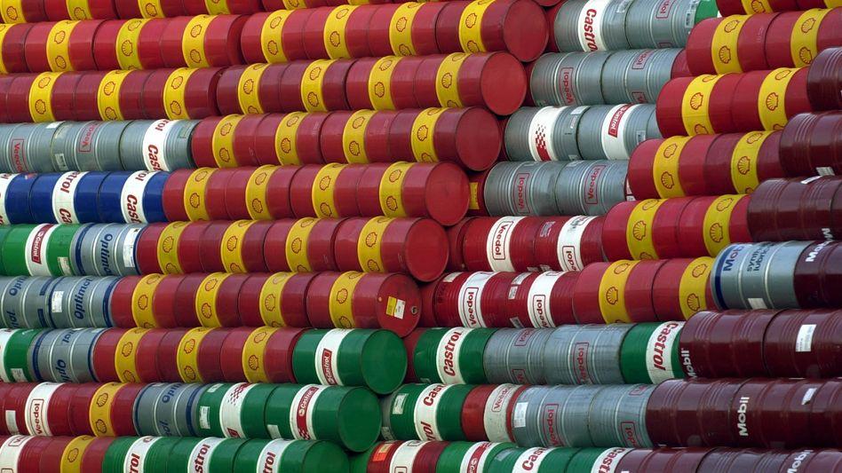 Ölfässer: Der Preis für ein Fass Rohöl (159 Liter) der Sorte Brent hat die Marke von 70 Dollar überschritten