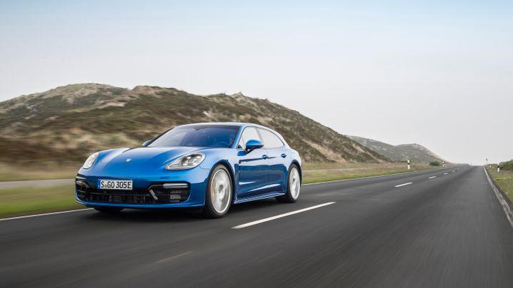 Porsche Panamera Sport Turismo: Sportlicher Fünftürer