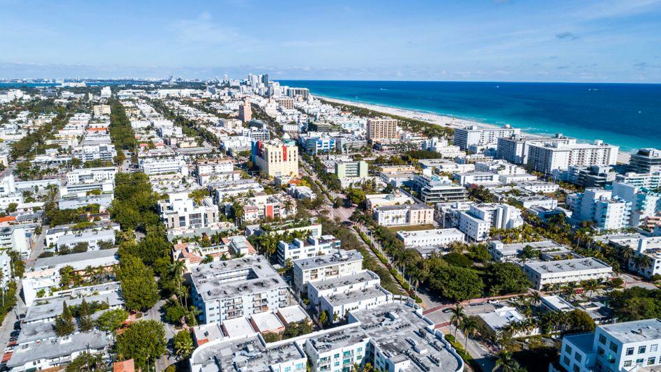Miami Beach: Hier wie andernorts in den USA könnte es gleichzeitig zu einem Immobilienpreisboom und einer Immobilienkrise kommen