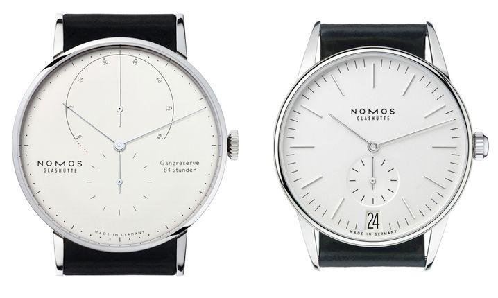 Bauhaus am Handgelenk: Die Nomos-Uhren sind etwas für Puristen