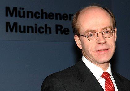 """""""Mehr Sturmaktivitäten"""": Münchener-Rück-Chef von Bomhard"""