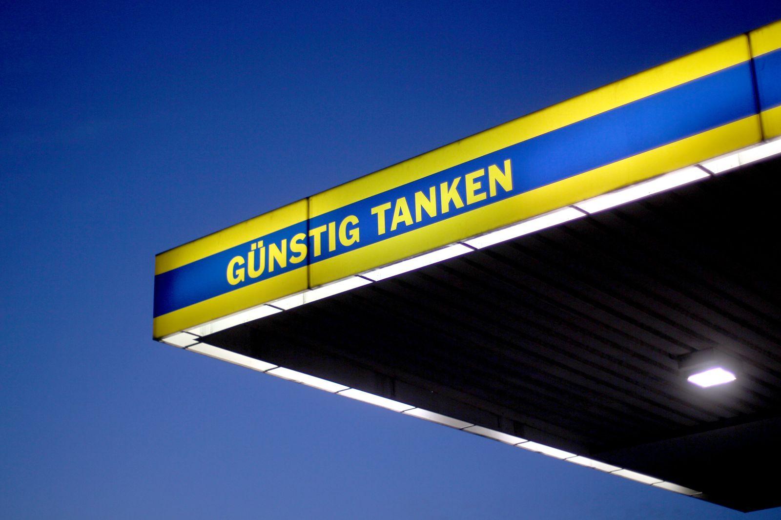 Tankstelle Euroraum Preise
