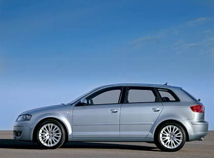 "Audi A3 Sportback: Kombi bleibt Kombi, auch wenn Audi dem Sportback ""coupéhafte Linien"" andichtet"