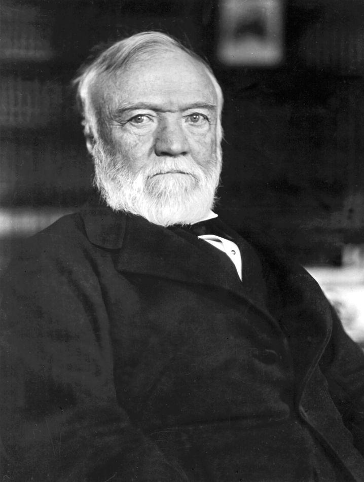 """Andrew Carnegie: Seine Stahlfirma nannten sie an der Wall Street nur """"The Corporation"""""""