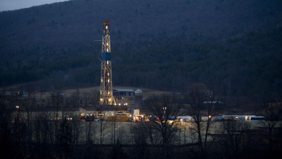 Gasförderung in Pennsylvania: Der Rohstoff bringt weniger Gewinne als erwartet