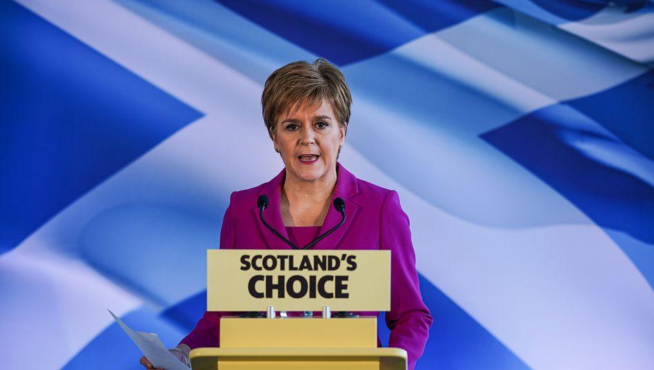 Schottlands Premier Nicola Sturgeon: Höchste Zeit für ein Unabhängigkeits-Referendum