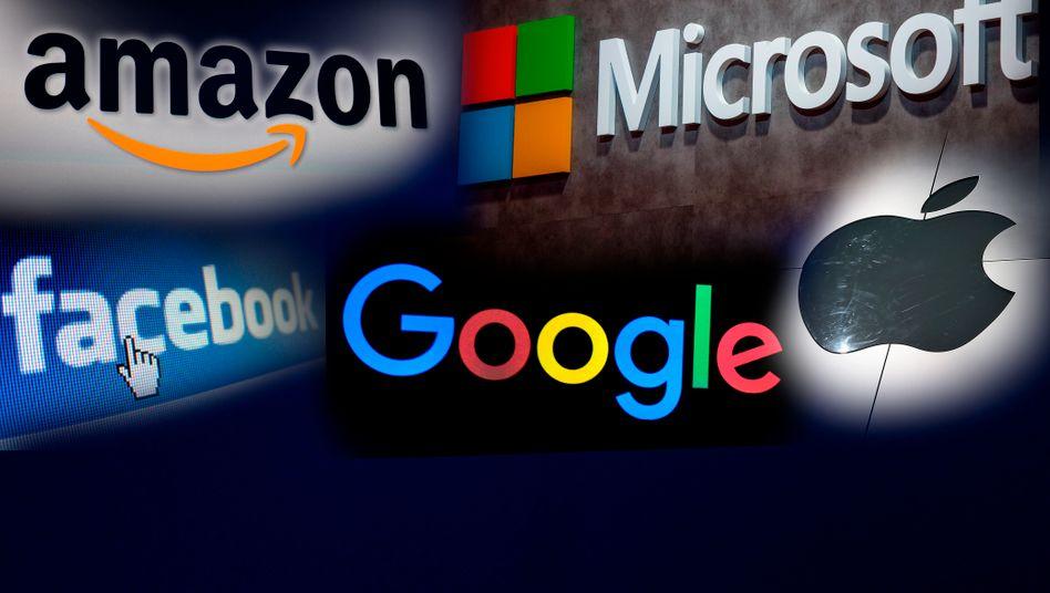 Billionenkonzerne und Steuertrickser: Apple und Microsoft haben mit ihrem Börsenwert Amazon und Alphabet hinter sich gelassen