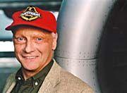 Das Lachen ist ihm vergangen: Niki Lauda