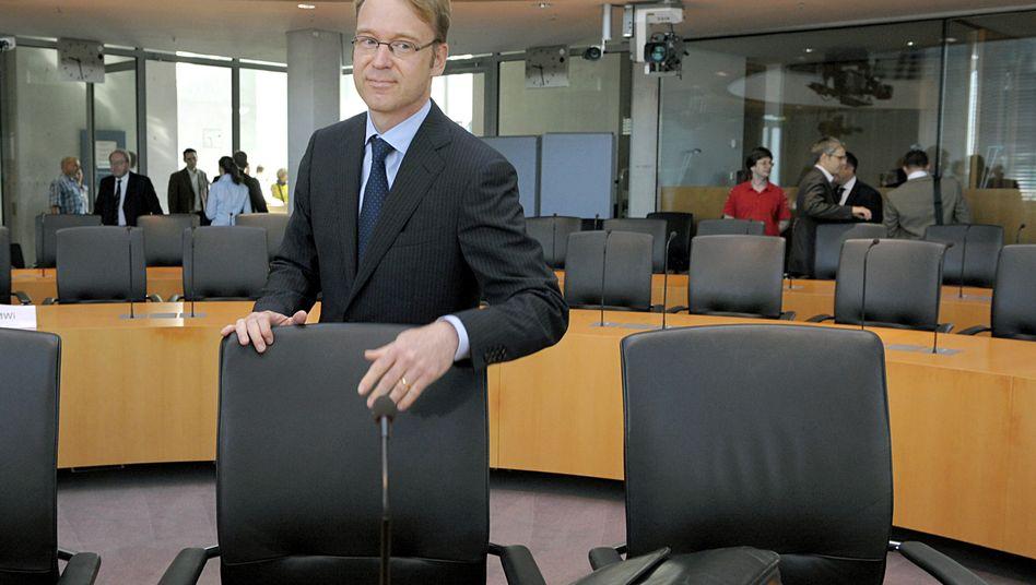 Aufgabe außerhalb des Kanzleramts: Bundesbank-Lenker Jens Weidmann