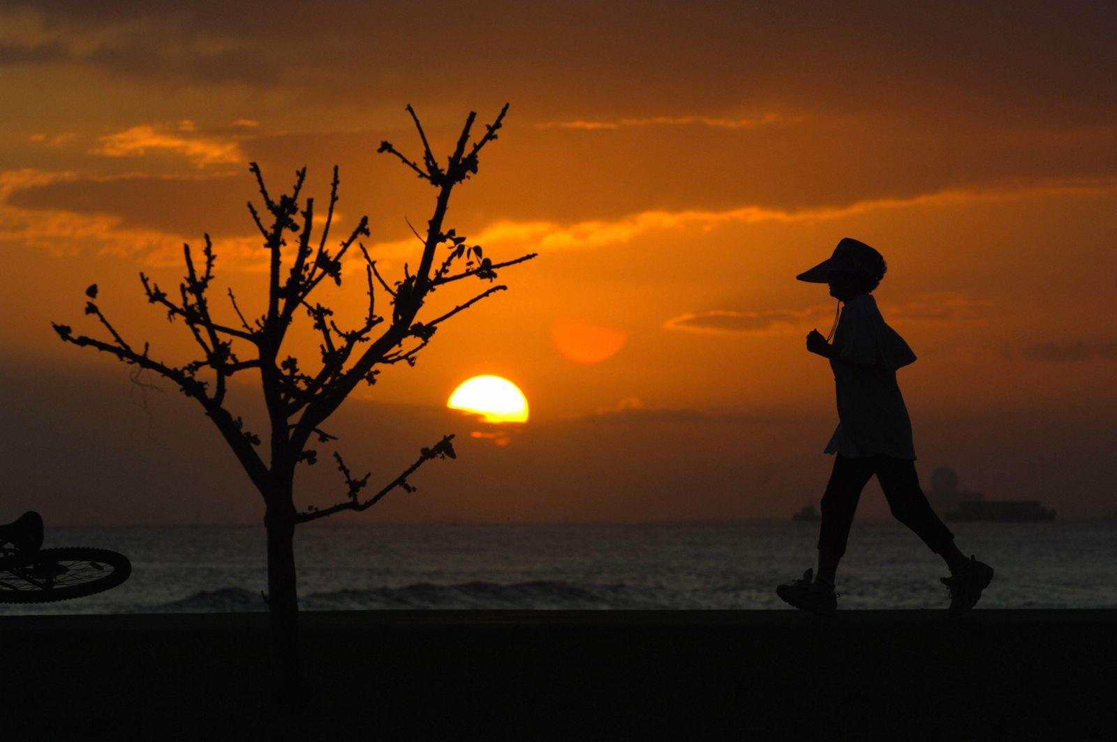 Läufer Hawaii