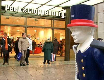Langsame Anpassung des Sortiments an die moderne Welt: P&C Nord, hier Filiale in der Hamburger Mönckebergstraße