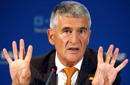 """BASF-Chef Hambrecht: """"Wir müssen uns auf harte Zeiten vorbereiten"""""""