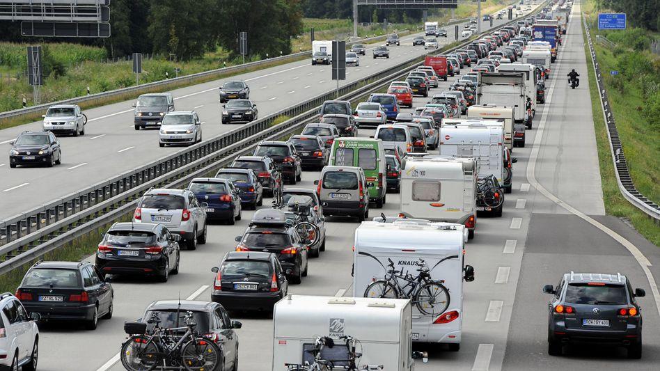 Autobahn A1 zwischen Hamburg und Bremen