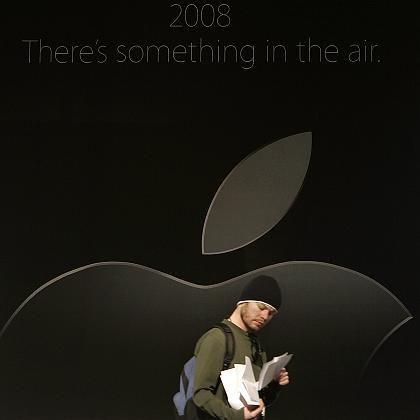 Produktvorstellung als Show: Apple-Fans fiebern der Macworld-Messe entgegen
