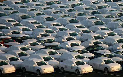 Schwache Autoverkäufe: Zulieferer leiden mit