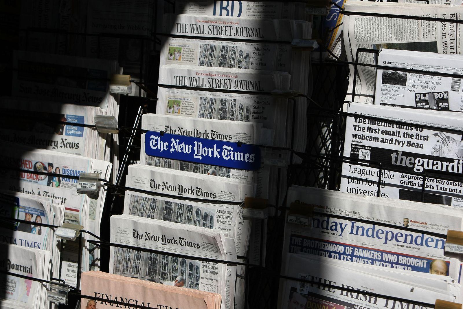 USA Zeitungsständer