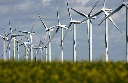 Windkraftanlage in Nordfriesland: Potential übersteigt Gesamtenergiebedarf