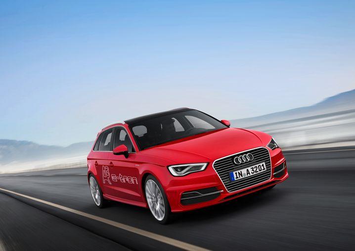 Audi A3 e-tron: Den noblen Golf-Bruder gibt es auch als Plugin-Hybrid mit 50 Kilometer E-Reichweite