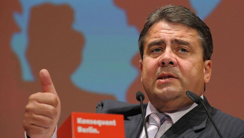 Aufschwung nutzen: SPD-Chef Gabriel setzt sich für steigende Löhne ein