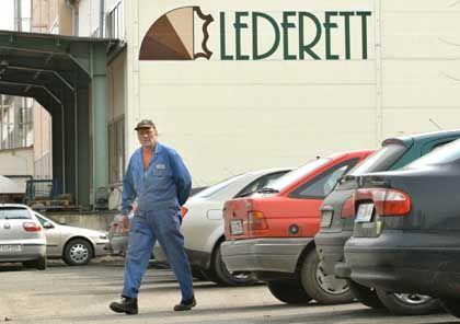 Spürbarer Umsatzausfall: Lederzulieferer Lederett