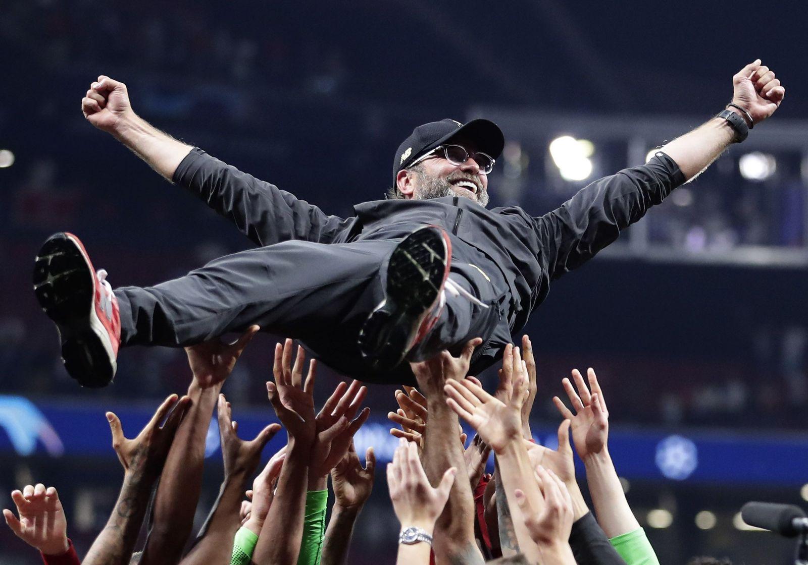 APTOPIX Spain Soccer Champions League Final