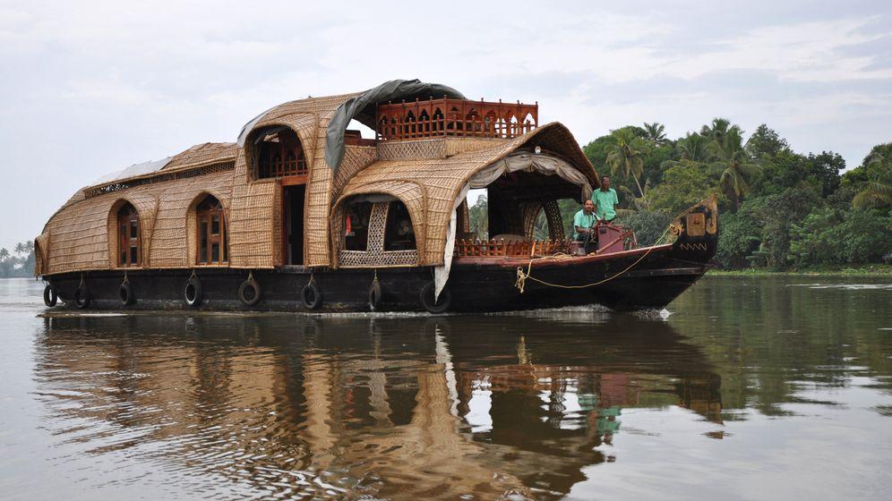 Indien: Über die Wasserarme der Backwaters