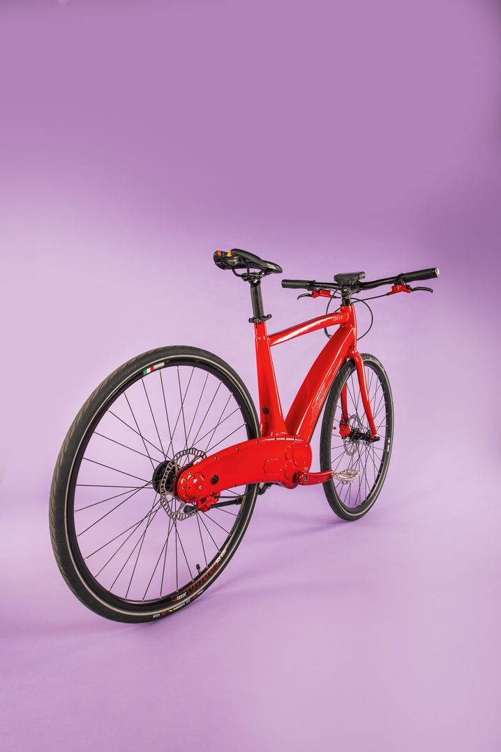 Neox Sporter, Gewicht 20,8 kg, Preis 4.590 Euro, Motor 250 Watt, laut Hersteller Höchstgeschwindigkeit 25 km/h, Reichweite 80 bis 100 km