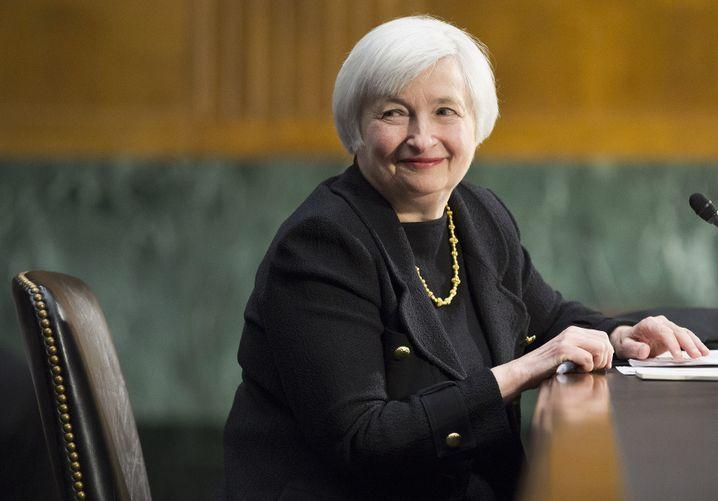 Künftige Präsidentin der Federal Reserve: Janet Yellen