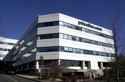 Teurer Einkauf: Heidi Miller kam als Finanzchefin von der Citigroup zu priceline.com. Sie lieh sich von dem Internet-Unternehmen drei Millionen Dollar zu 6,5 Prozent Zinsen. Als sie das Unternehmen nach acht Monaten wieder verließ, teilte priceline.com mit, dass Miller alle Schulden erlassen worden seien. (Quelle: CNet.com)
