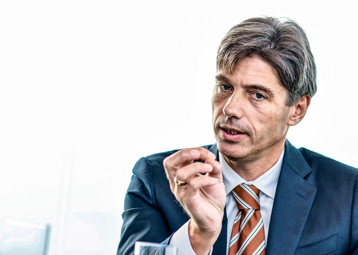 Carsten Kratz, Deutschlandchef der Boston Consulting Group im Gespräch.