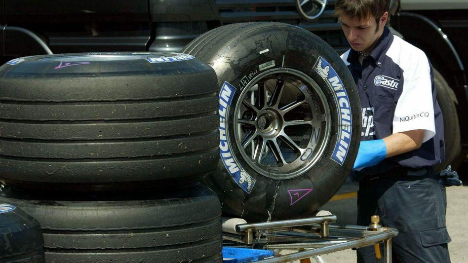 Nicht nur im Rennsport eine Größe: Der Reifenhersteller Michelin beschäftigt weltweit 127.000 Menschen - und das soll auch nach der bevorstehenden Restrukturierung so bleiben