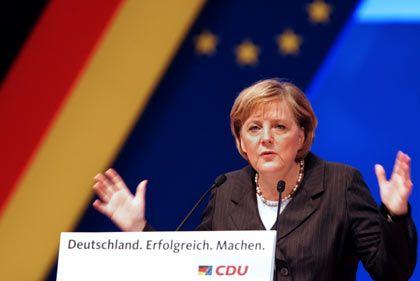 Will mit der unternehmenstuerreform die Wettbewerbsstituation für Unternehmen verbessern: Bundeskanzlerin Angela Merkel