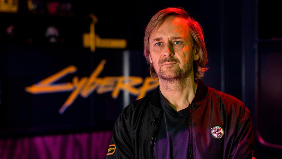 """Zu viel versprochen: CD-Projekt-Mitgründer Marcin Iwinski hatte das Spiel """"Cyberpunk 2077"""" mit einer """"neuen Qualität"""" des Erlebnisses für die Nutzer beworben"""