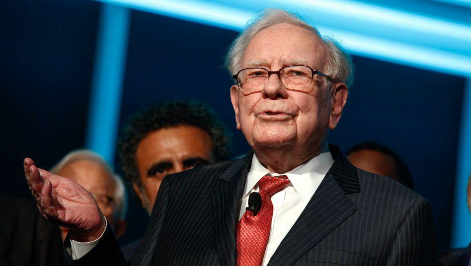 Wohin nur mit dem Geld? Warren Buffett kauft zurzeit vor allem eigene Aktien