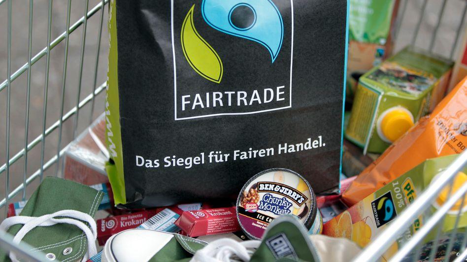 Fairtrade-Produkte: Das Siegel genießt hohes Vertrauen bei den Verbrauchern