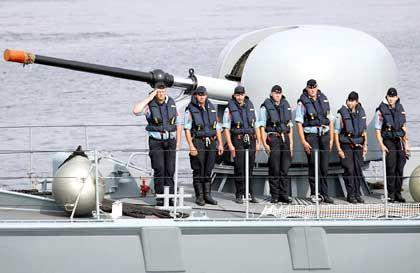 UN-Friedenseinsatz:Deutsche Marinesoldaten