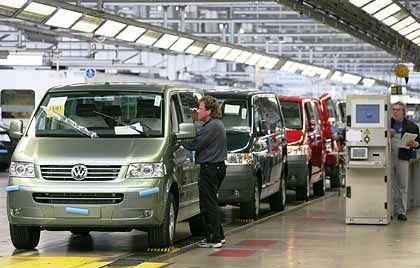 Zugelegt: Der Absatz bei VW-Nutzfahrzeuge stieg um zehn Prozent