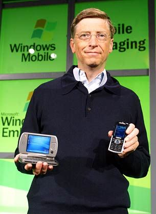 Legt selbst Hand an: Microsoft-Gründer Bill Gates
