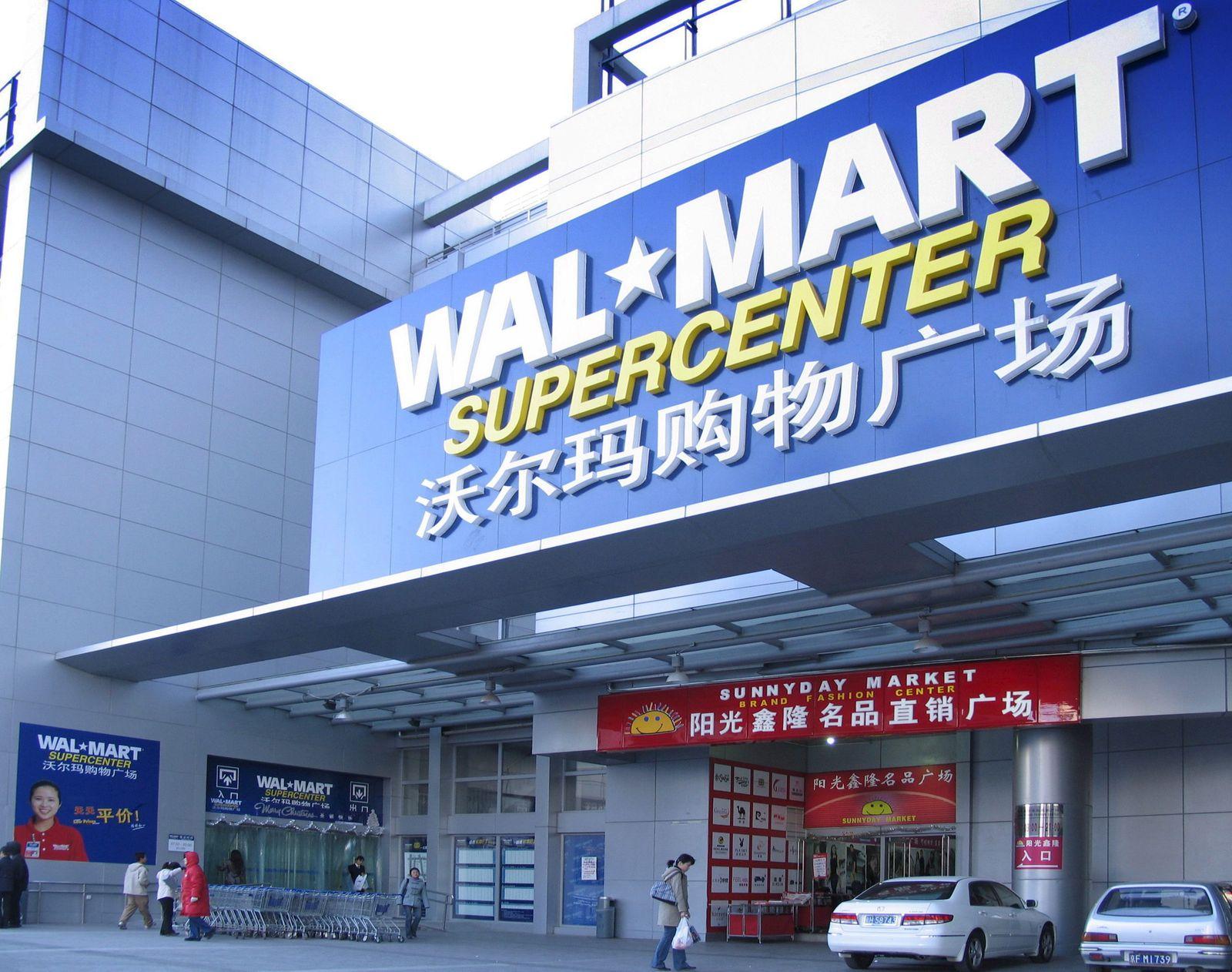 Walmart in China / Peking