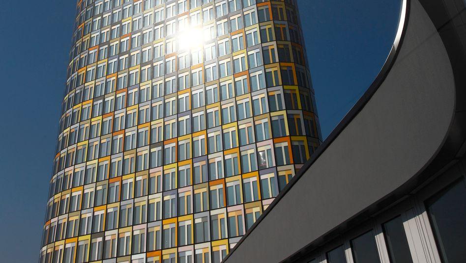 22 Etagen und 22 Gelbtöne: ADAC-Zentrale in München