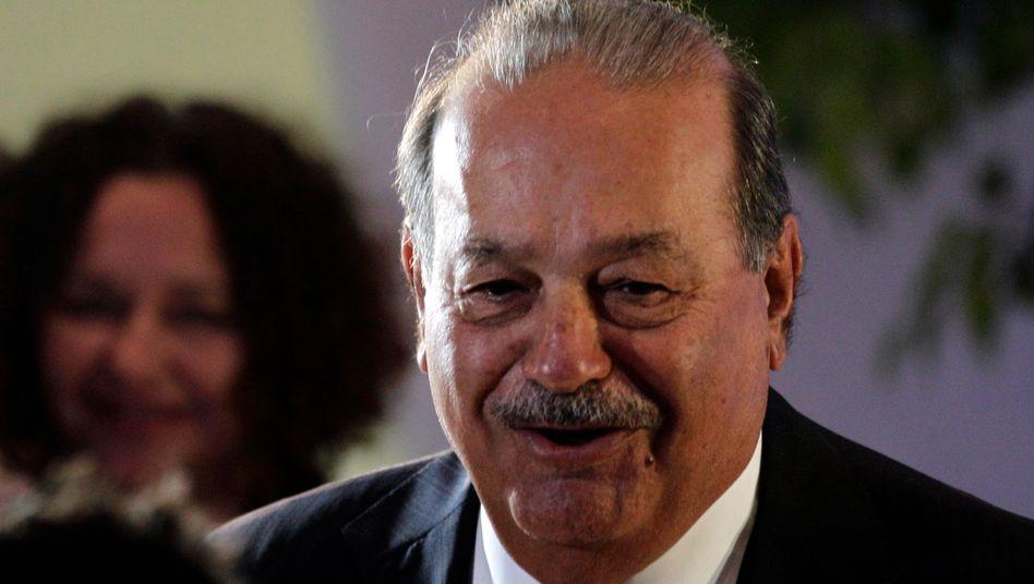 Im Angriffsmodus: Milliardär Carlos Slim
