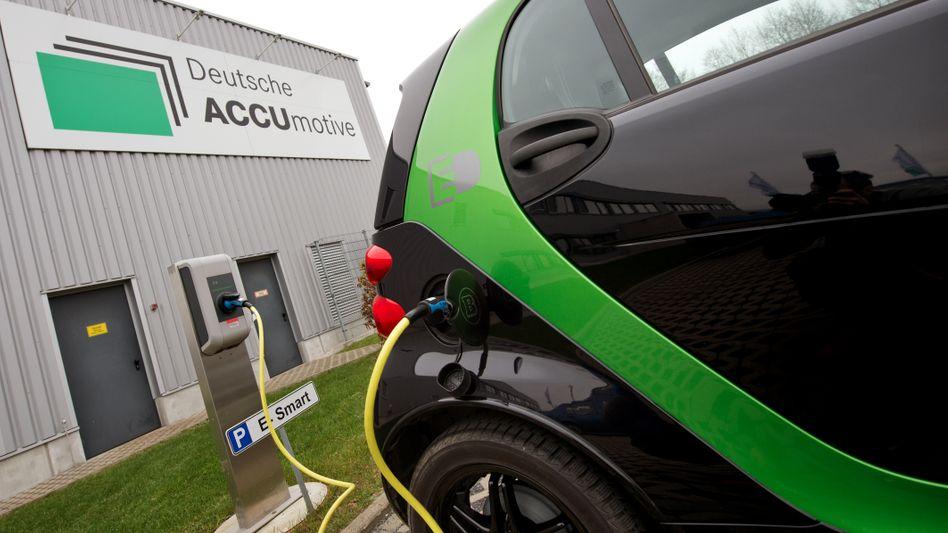 Elektro-Smart in Kamenz: Die neue Generation des E-Wagens soll mit Batteriepaketen aus Sachsen angetrieben werden