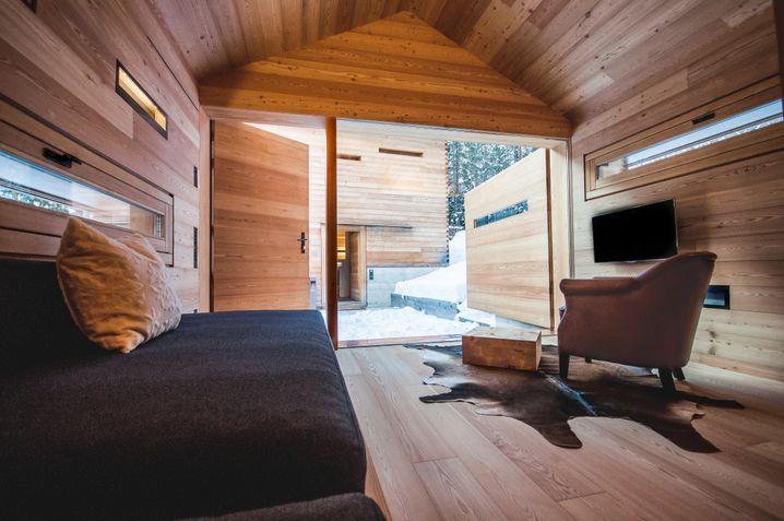 Von der abbruchreifen Hütte zum Luxusblockhaus: Mountain Lodge Tamers