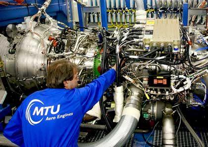 """""""Weichen gestellt"""": MTU sieht sich trotz der Wirtschaftskrise gut positioniert."""