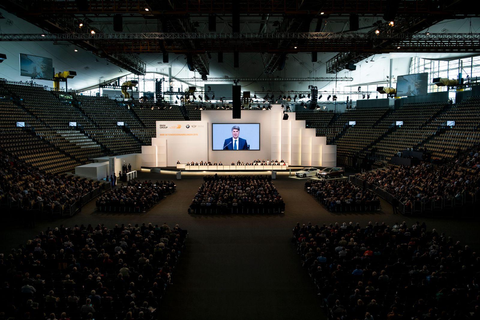 BMW Hauptversammlung Mai 2019