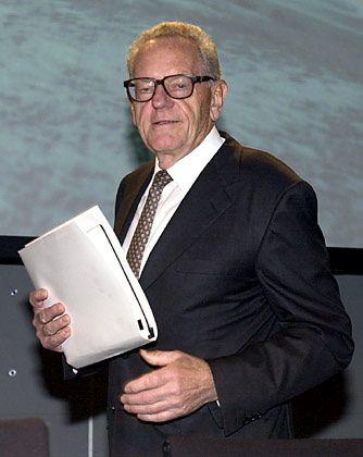 Nur noch kurze Zeit Herrscher über alle Reussen? Telekom-Chef Helmut Sihler