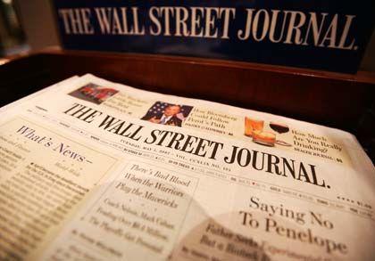 """Flaggschiff: Auch das """"Wall Street Journal"""" erscheint im Dow Jones-Verlag"""