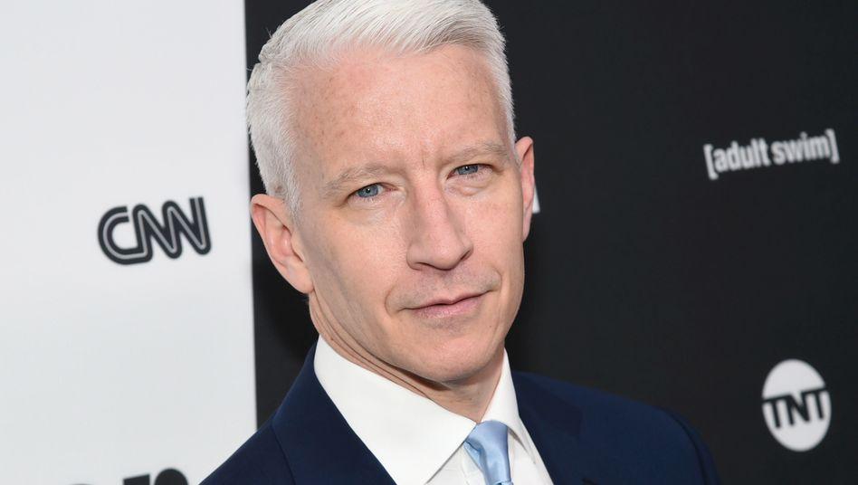 CNN-Anchorman Anderson Cooper: Treibt die US-Regierung mit ihrem Einspruch die Abspaltung von CNN von Time Warner voran? Der Milliardendeal zwischen Time Warner und AT&T droht nun zu kippen